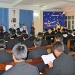stella maris students daily mass